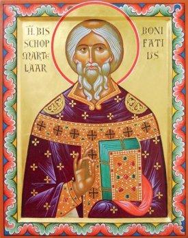 Saint Boniface l'apôtre des Germains